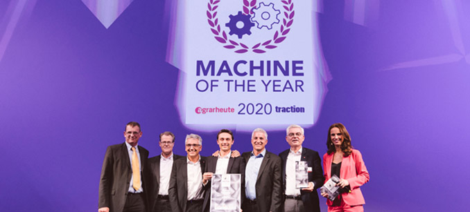 La serie MF6700 S nombrada Machine of the year 2020